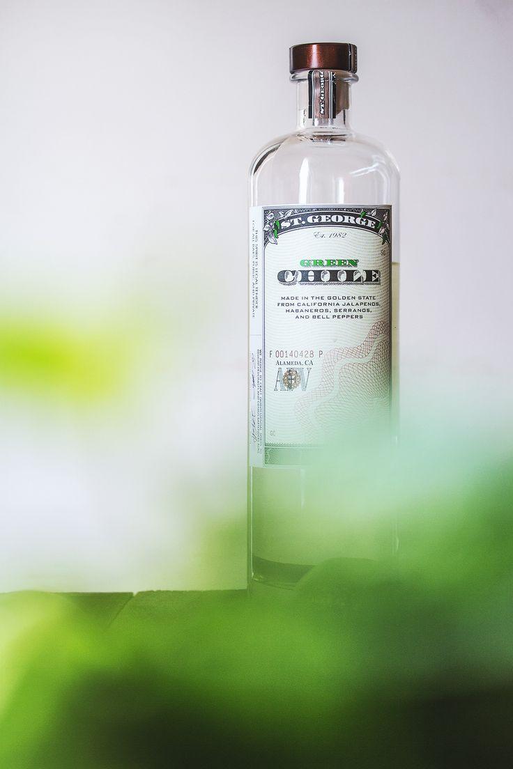 St. Geroge Green Chile Vodka | HonestlyYUM