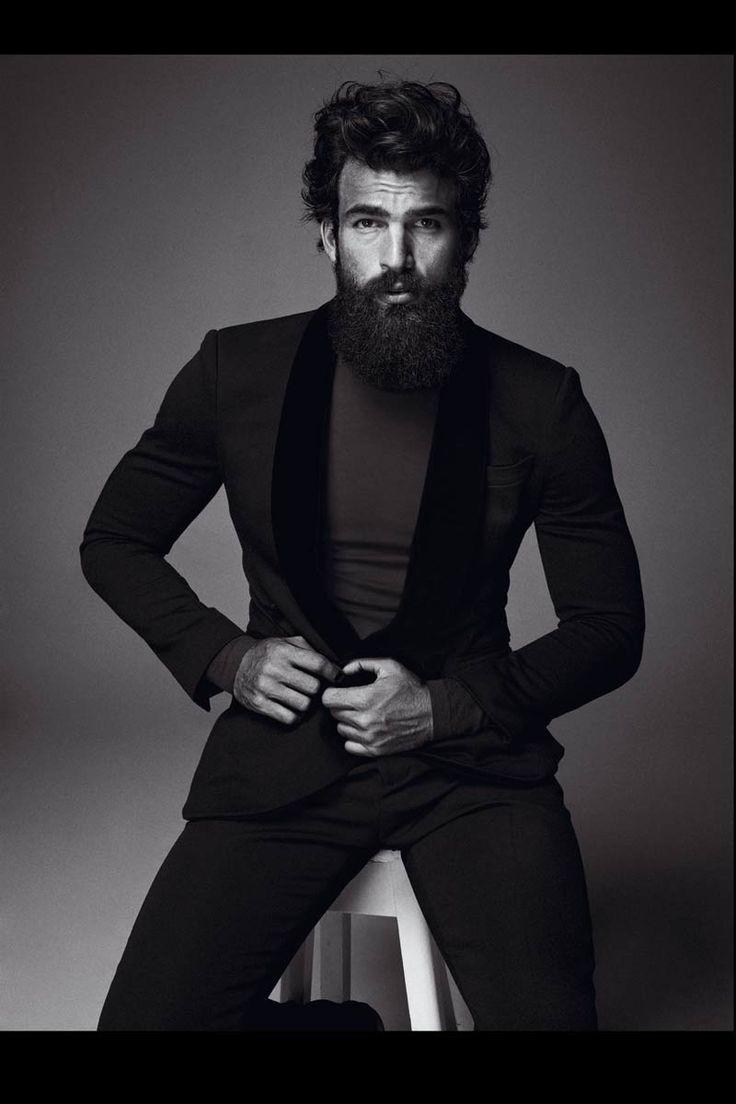#GiorgioArmani lapel tuxedo jacket and pants.