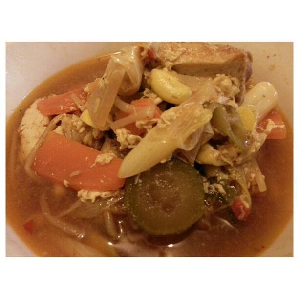 #掃除 終わって#韓国料理 #チゲ鍋 #korean #soup after #cleaning #yummy#food#philippines#フィリピン