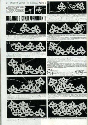 Free Russian Crochet Patterns | Duplet 144 Russian crochet patterns magazine | Lado - Books ...