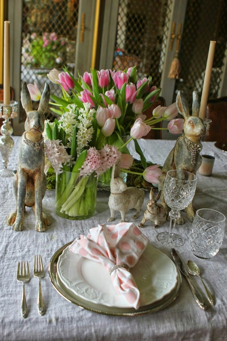 257 best EASTER CENTERPIECES AND DECORATIONS images on Pinterest ...