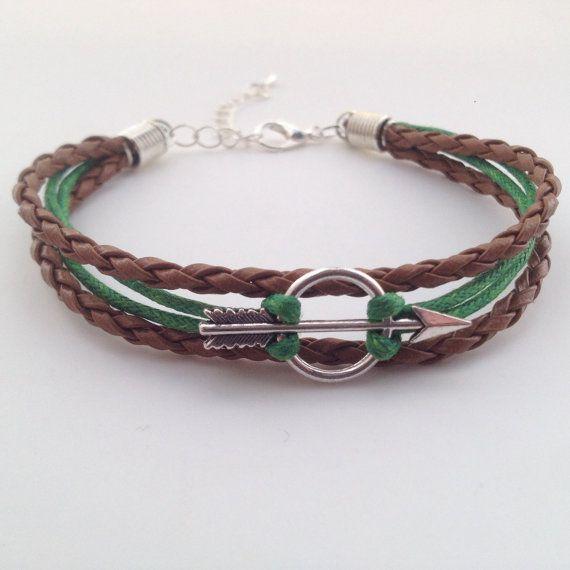 Robin Hood armband  pijl armband  Boheemse door BohemianFantasy