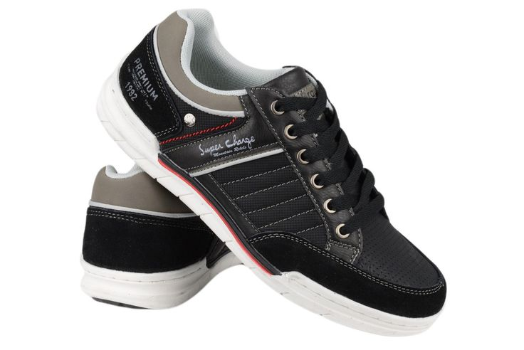 MC BRAUN Buty Sportowe Czarne 0212 46 (7236348667) - Allegro.pl - Więcej niż aukcje.