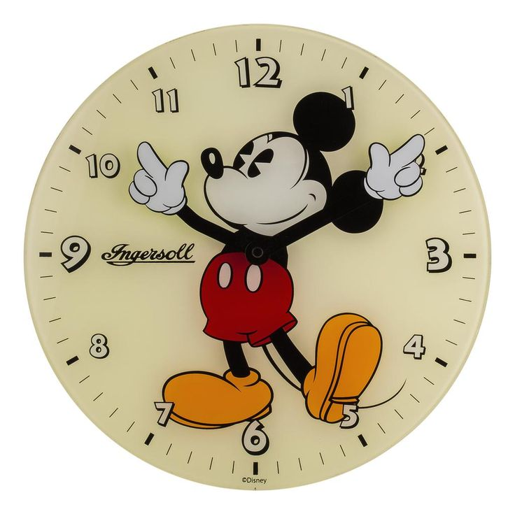 Ingersoll - Mickey Mouse Wall Clock