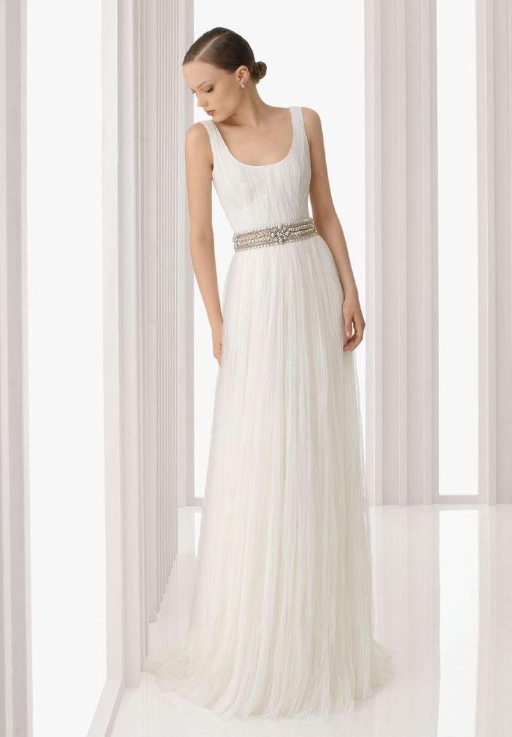 7 best Straps A-line V-neck Wedding Dress with Illusion Back ...