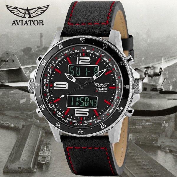 aviator f series pilot chronograph horloges pinterest. Black Bedroom Furniture Sets. Home Design Ideas