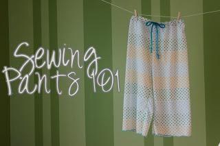 DIY Clothes DIY Sewing Pajama Pants DIY Sleepwear