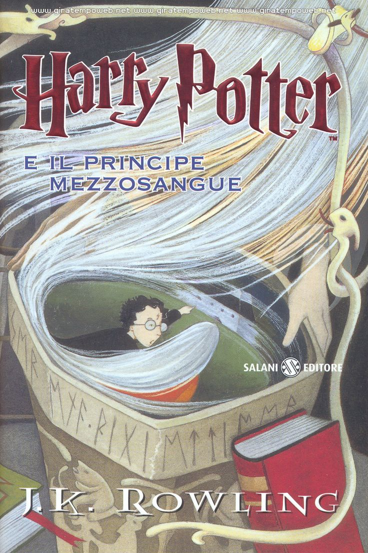 J. K. Rowling - Harry Potter and the halfblood prince  J. K. Rowling - Harry Potter e il principe mezzosangue