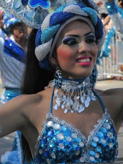 Carnaval desfile de fantasia