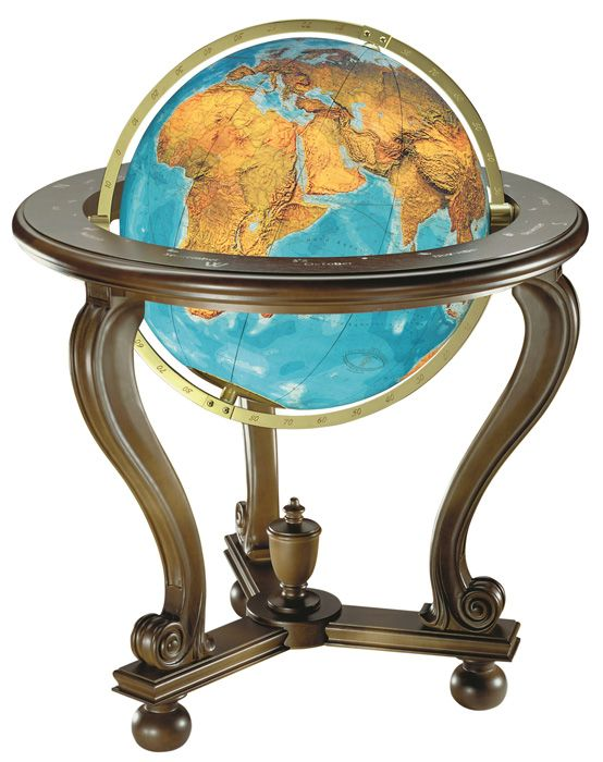 columbus berlin illuminated glass floor globe with walnut cradle stand brass meridian and