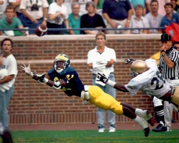 Desmond Howard - The Catch - one of the many incredible I was able to witness in person.