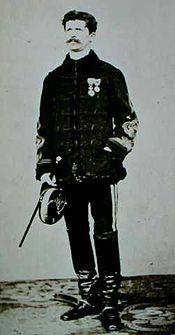 Jules Brunet à Ezo en 1869