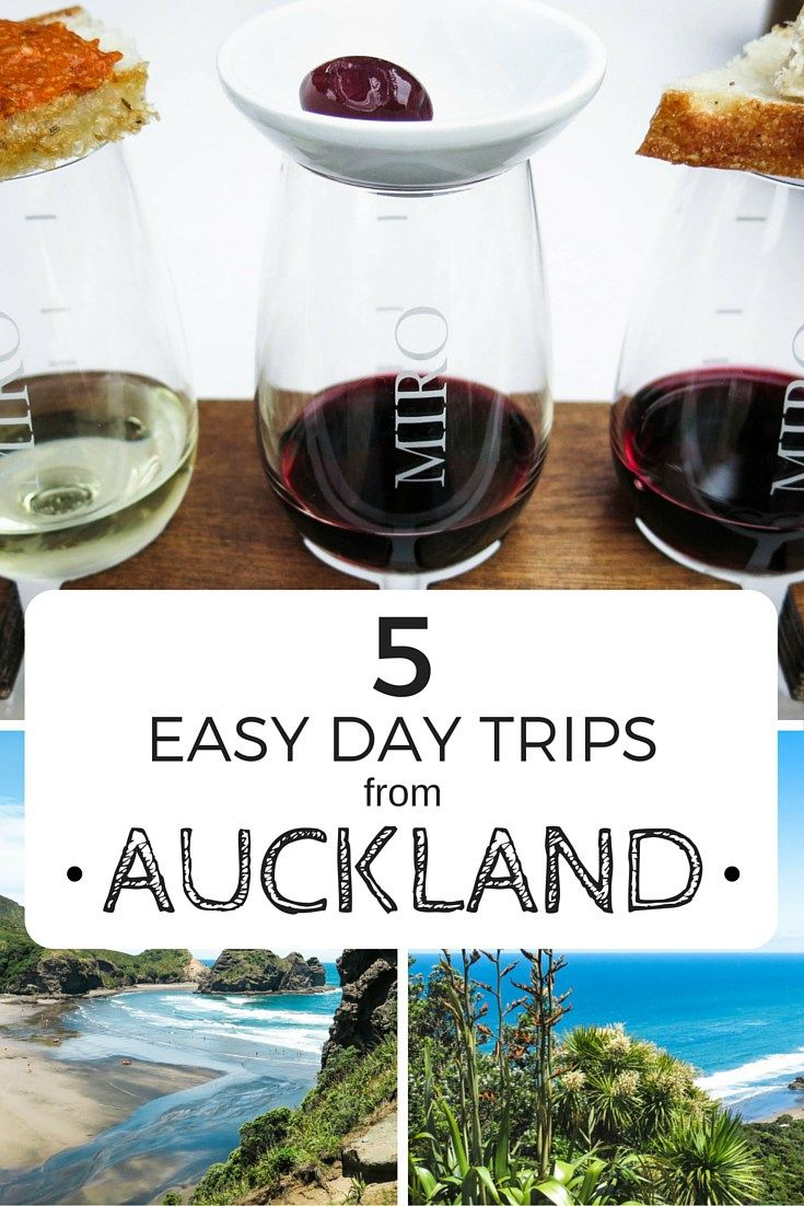 5 Easy Day Trips From Auckland                                                                                                                                                                                 More