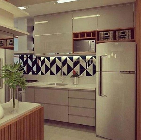 cozinha planejada pequena