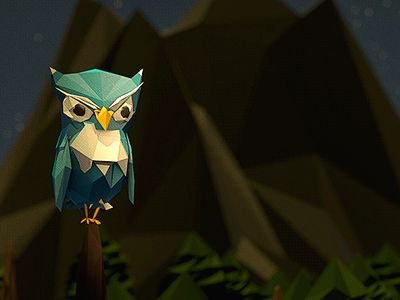 Poly-Owl by Jeremiah Shaw