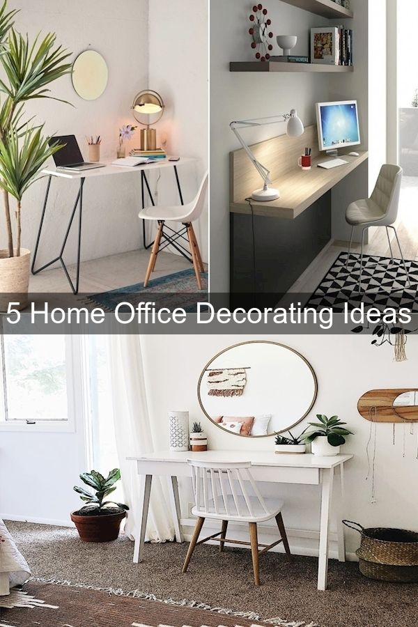 Home Office Design Ideas For Small Spaces Office Wall Decorating