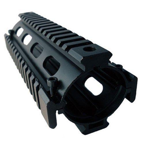 AIM Sports Solid Metal Carbine Length Weaver / Picatinny Quad Rail Handguard System by AIM. $29.95. Aim Sports Weaver/Picatinny Carbine Length Quad Rail Handguard System