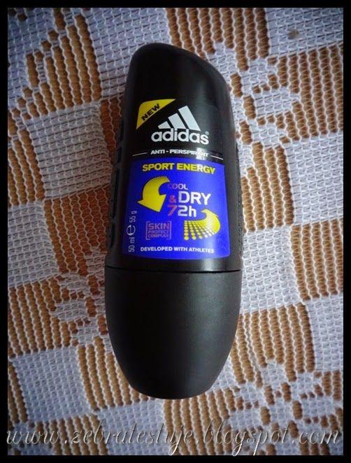 Zebra Testuje: Adidas for Men Cool & Dry Dezodorant roll-on Sport...