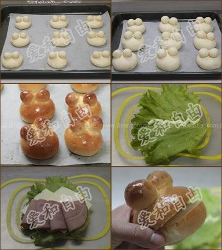 How to DIY Cute Frog Shaped Hamburger | iCreativeIdeas.com Like Us on Facebook ==> https://www.facebook.com/icreativeideas