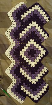 Ravelry: CARLEEN69's DROP IN THE POND AFGHAN
