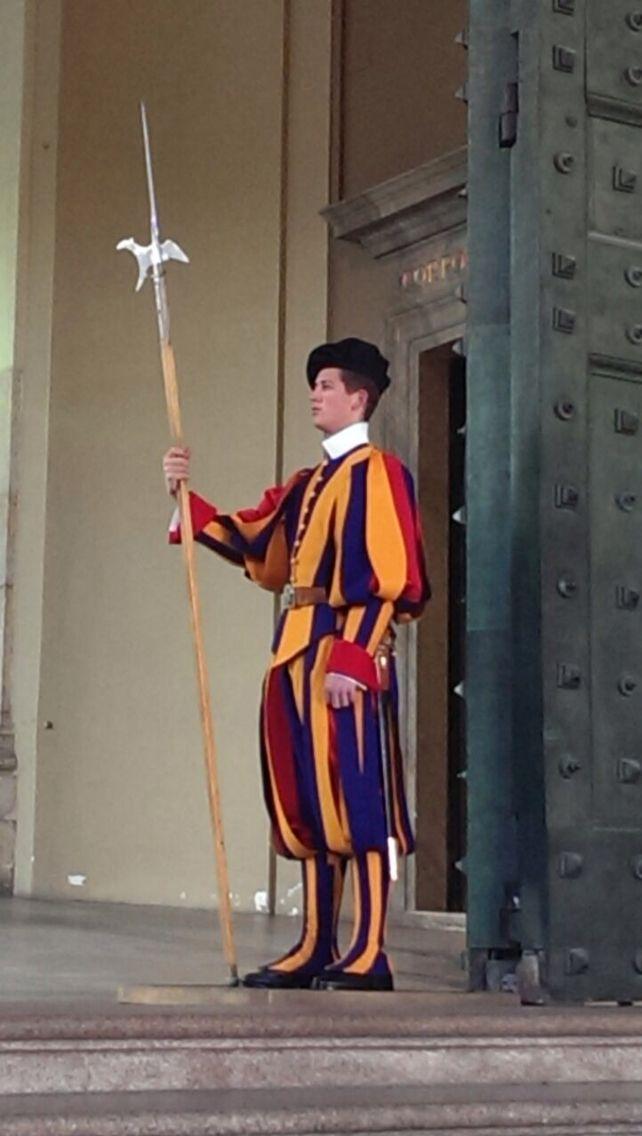 Guardia Svizzera, Città del Vaticano foto by Pierluigi Zanin