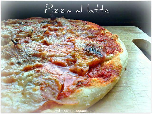 Vivi in cucina: Pizza al latte nel microonde