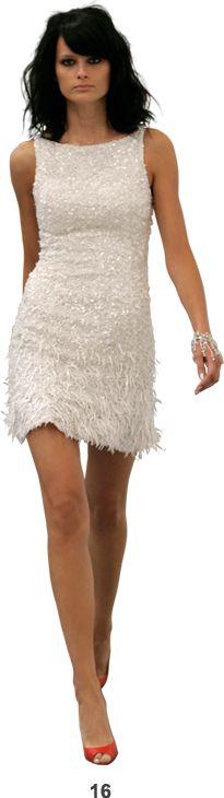 L ren scott white dress plus