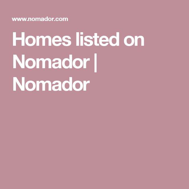 Homes listed on Nomador | Nomador