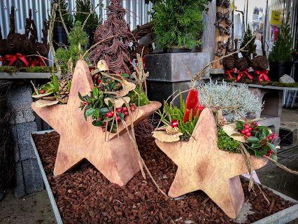 Winterfeste Outdoor-Sterne. Für ein herzliches Willkommen! #Advent #Weihnachten …  – Weihnachten