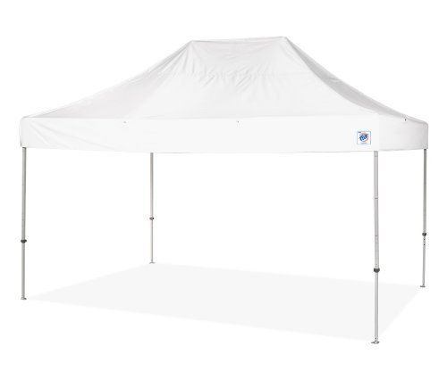 E-Z UP Eclipse II 10 by 15 Instant Shelter with Aluminum Frame, White by E-Z UP. Save 30 Off!. $704.65. Professional feature package; accessories are roller bags, sidewalls, railskirts. Available in white color; elevated center design with double braced trusses for strength and increased headroom. Fixed attachment points for expanded accessory options; metal footpad with recessed weld for minimal wear and stability. For corporate events, rental industry, business and civic events, trad...