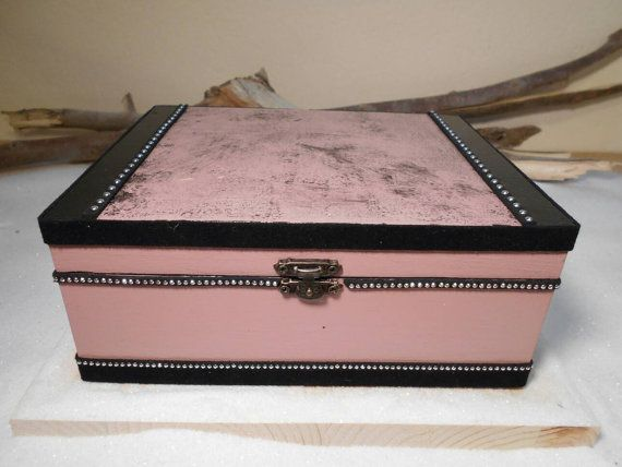 Handmade wooden box Organization box Decoration box by Zozelarium