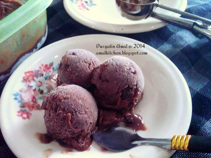 Amal's Kitchen : Simple & Easy Recipes: Es Krim Pisang Sehat : Super Mudah, Tanpa Mixer, Tanpa Susu, Tanpa Krim, Tanpa Telur ^^