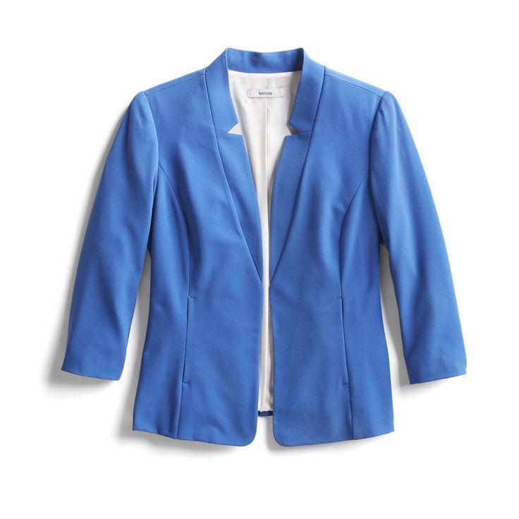 Spring Stylist Picks: Blue notch-collar blazer