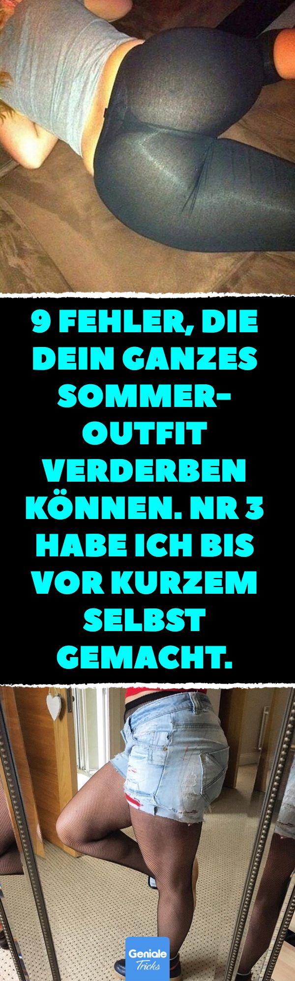 9 Fehler, die dein ganzes Sommer-Outfit verderben können. Nr 3 habe ich bis vor kurzem selbst gemacht. Diese 9 Outfit-Fehler solltest du im Sommer vermeiden. #Kleidungsstücke #Outfit-Fehler #Sommer #Styling