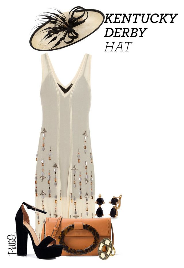 """""""KENTUCKY DERBY 2017 *Neutrals*"""" by patigshively ❤ liked on Polyvore featuring By Malene Birger, Rachel Trevor-Morgan, Kate Spade, Michael Kors, Boohoo, House of Harlow 1960, kentuckyderby, dayattheraces, derbyhats and daytimecouture"""