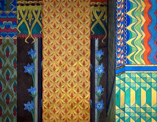 Poland - Kraków - Franciszkańska 2  The Franciscan Church  /polychromies 1895-1897,  designer Stanisław Wyspiański/