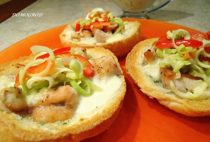 Domogród: Soczysty kurczak z mozzarellą do zapiekanek