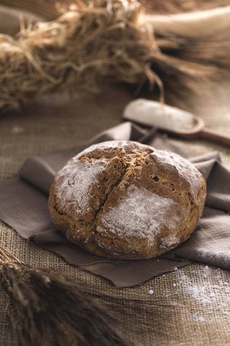 #Irish #Soda #bread is a traditional yeast free bread, quick to make and ideal for #breakfast!