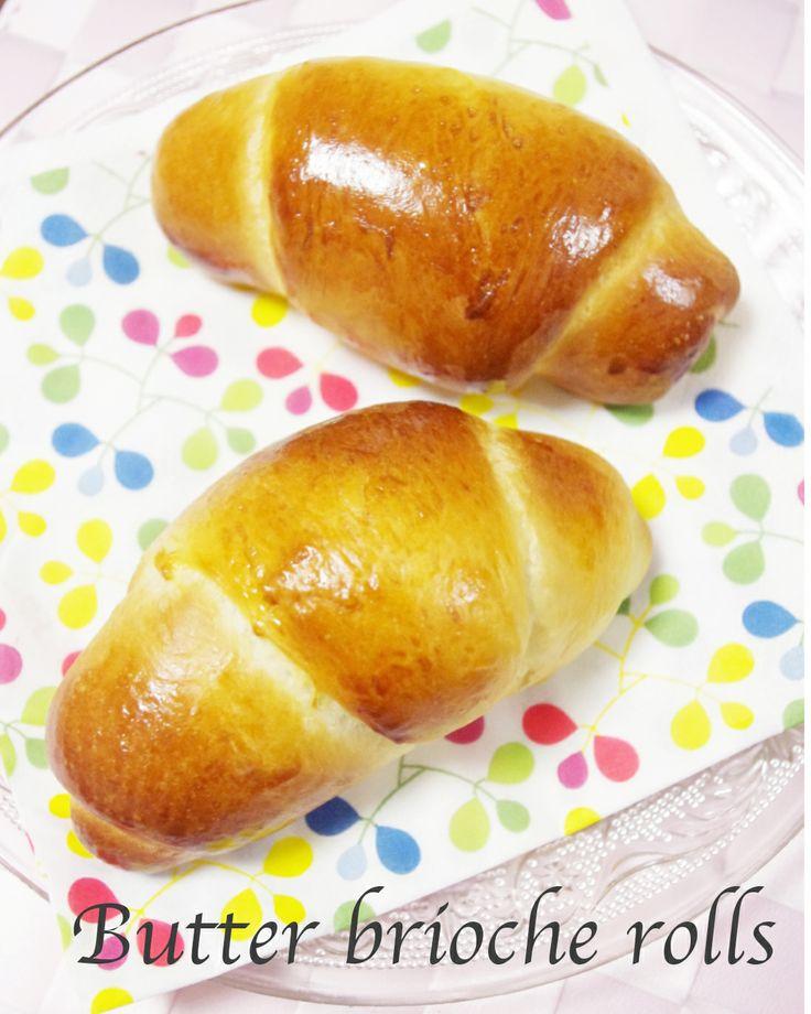 Butter brioche rolls