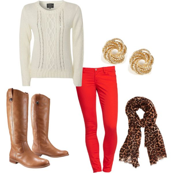 A fashion look from October 2012 featuring Blonde + Blonde sweaters, Old Navy and Merona ankle booties. Browse and shop related looks.
