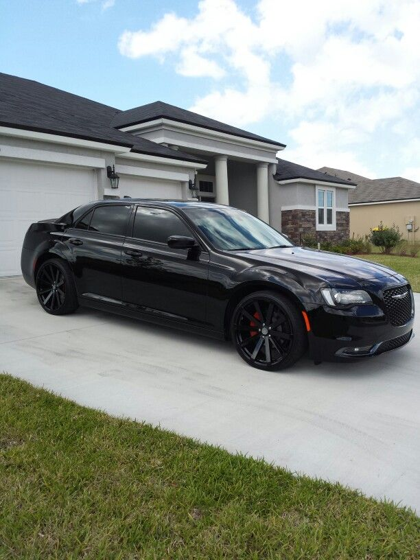 "2015 chrysler 300S ""The Dark Knight"""