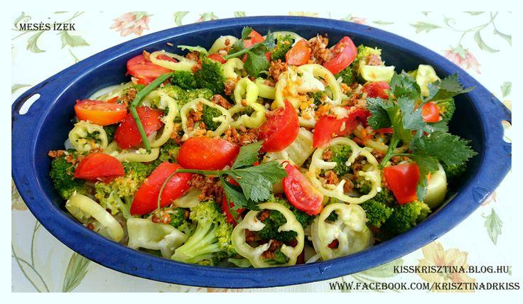 Rakott zöldség  Recept a blogon.