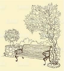 Résultats de recherche d'images pour «banc dessin»