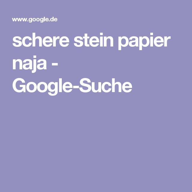 schere stein papier naja - Google-Suche