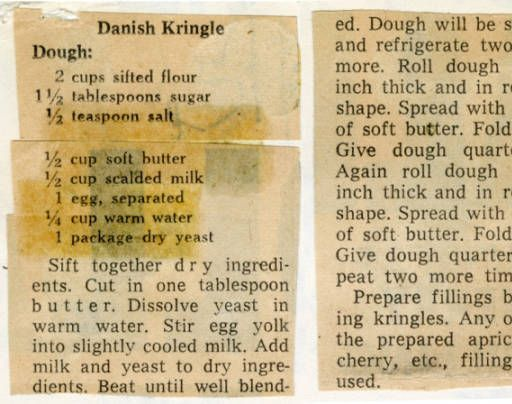 Danish Kringle :: Historic Recipe