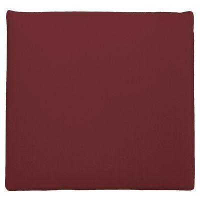Easy Way Solid Knife Edge Polyester Outdoor Chair Pad Lipstick - 11004U-C550