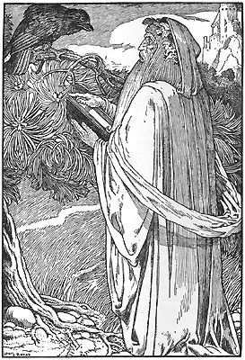 "According to Geoffrey's ""Vita Merlini"" (c. 1151), Merlin/Myrddin was a sixth century prophet living in the north of Britain where his career extended beyond Arthur."