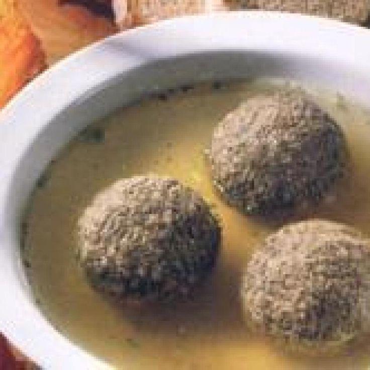 German Style Liver Dumplings ( Leberknödel ) | Recipe in ...