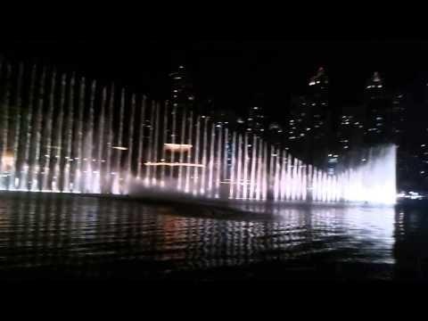ОАЭ. Дубаи. Шоу фонтанов. ч.1.