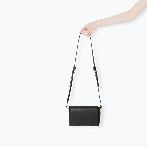 Zara Basic Messenger Bag